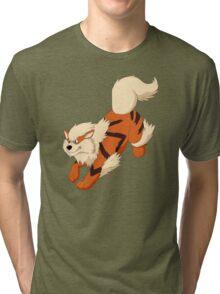 Arcanine Running Tri-blend T-Shirt