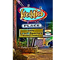 Freddie's Place Photographic Print