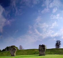 Avebury Panorama by digitalnative