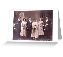 The Wedding 1916 Greeting Card