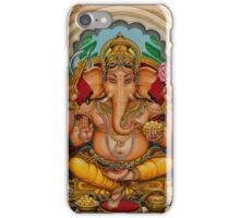 Ganapati darshan iPhone Case/Skin