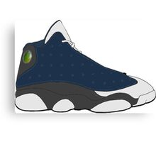 "Air Jordan XIII (13) ""Flint"" Canvas Print"