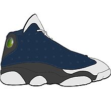 "Air Jordan XIII (13) ""Flint"" Photographic Print"