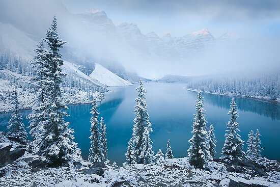 Patience - Moraine Lake by LukeAustin