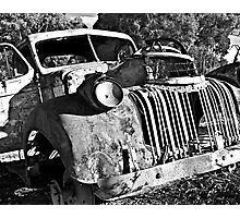 Car, Hill End Photographic Print