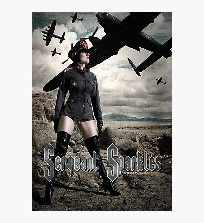 Sergeant Sparkles PROMO Photographic Print