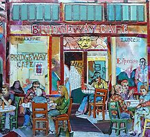 Bridgeway Cafe by Sally Sargent