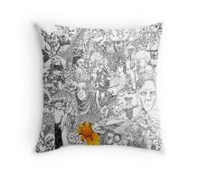 EPIC 01 Beth Edwards - Steve Hester Throw Pillow