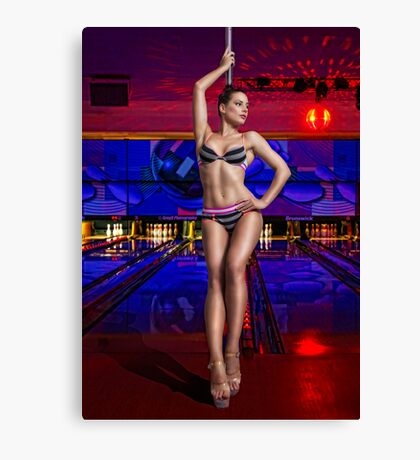 Kelly At The Alley Canvas Print