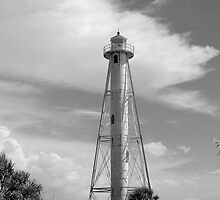 Gasparilla Island Rear Range Light by Laurie Perry