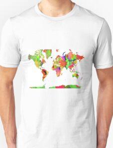 World Map 6 T-Shirt