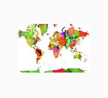 World Map 6 Unisex T-Shirt