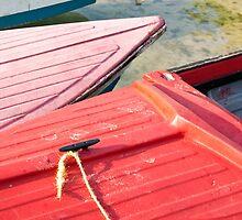 Fishing Boats: Three by CharleneCollins