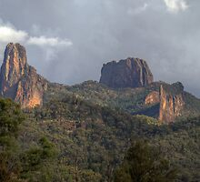 The Warrumbungles, NSW, Australia  (HDR) by Adrian Paul
