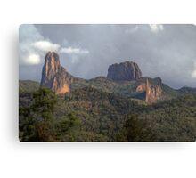 The Warrumbungles, NSW, Australia  (HDR) Canvas Print