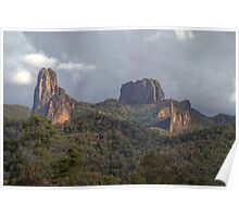 The Warrumbungles, NSW, Australia  (HDR) Poster