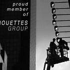 Proud member of Silhouettes group banner by Baina Masquelier