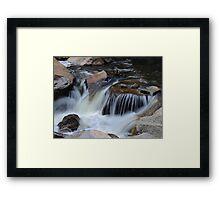 Small Cascades Framed Print