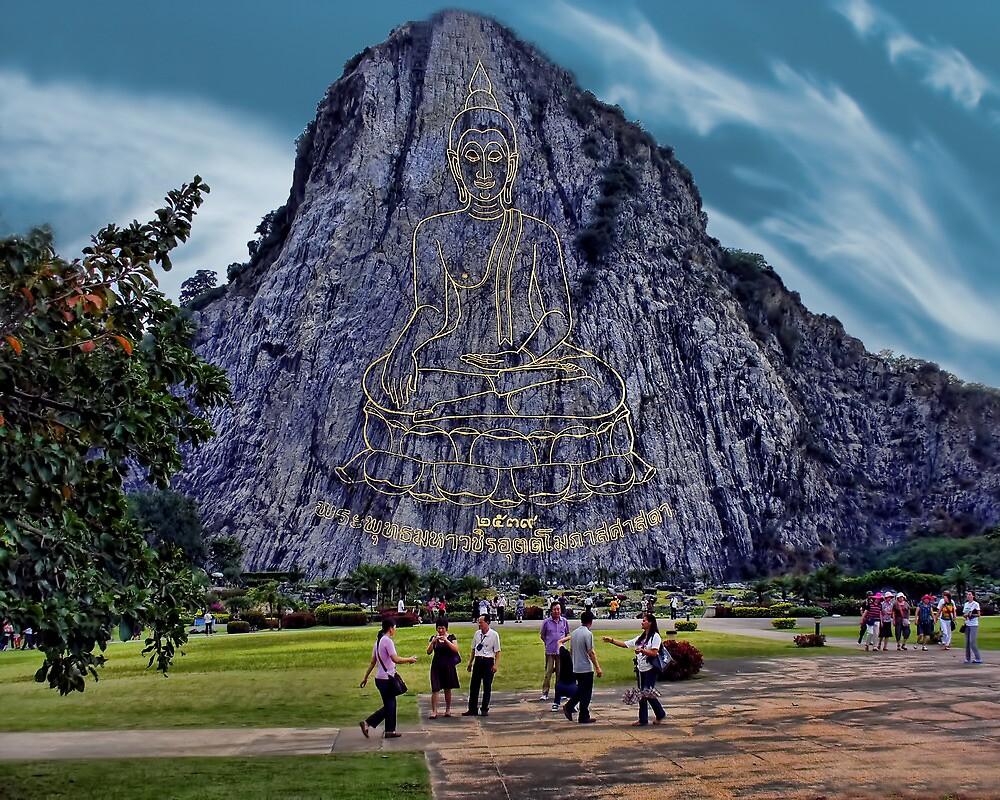 ¸.•*´♥`*•.Khao Chee Chan~ Buddha Montain Pattaya Thailand ¸.•*´♥`*•. by ✿✿ Bonita ✿✿ ђєℓℓσ
