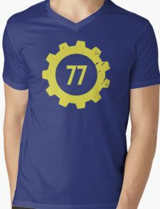 Vault 77 Mens V-Neck T-Shirt