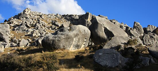Castle Hill - Great Alpine Road, New Zealand by Ruth Durose