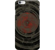 Old Vinyl Records Urban Grunge iPhone Case/Skin