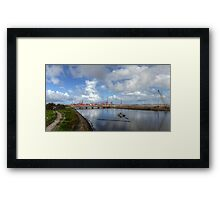 Working Infrastructure  Framed Print