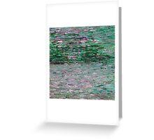 Monet Water2 Greeting Card