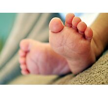Williams Ten Little Toes Photographic Print
