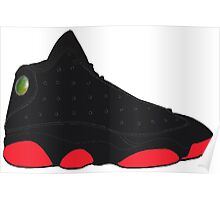 "Air Jordan XIII (13) ""Dirty Bred"" Poster"
