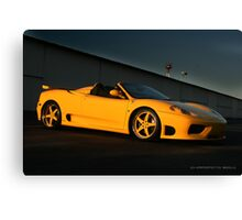 360 Ferrari Modena  Canvas Print