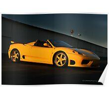 360 Ferrari Modena  Poster
