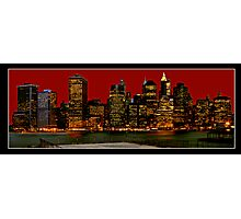 The Financial District Photographic Print