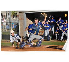 The Catcher - Out At The Plate Poster
