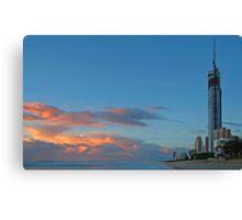 Gold Coast at dawn Canvas Print