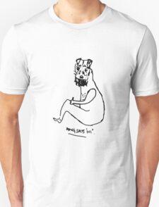 """Doug says """"hi"""" T-Shirt"""