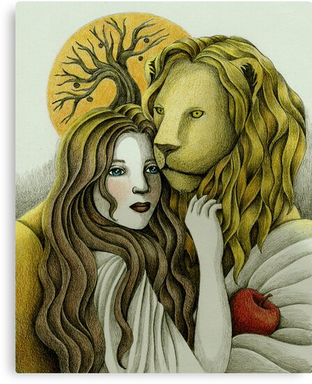 By Sunset - The Lady and the Lion by Amalia K