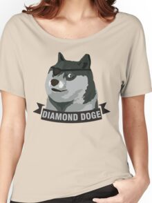 DIAMOND DOGE Women's Relaxed Fit T-Shirt