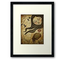 The Cycle - An Unexpected Guest Framed Print