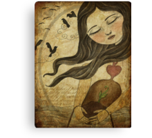 The Cycle - An Unexpected Guest Canvas Print