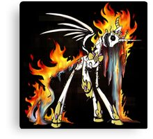 My Little Pony - MLP - FNAF - Nightmare Star Animatronic Canvas Print