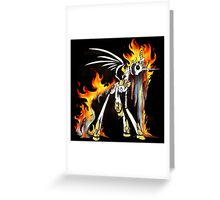 My Little Pony - MLP - FNAF - Nightmare Star Animatronic Greeting Card