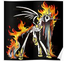 My Little Pony - MLP - FNAF - Nightmare Star Animatronic Poster