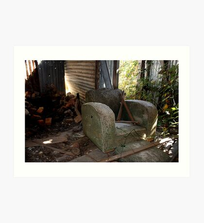 Abandoned - HILL END NSW Art Print