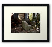 Abandoned - HILL END NSW Framed Print