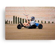 Sand Racer  Canvas Print