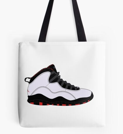 "Air Jordan X (10) ""Chicago"" Tote Bag"