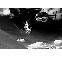 ski jump stunt Photographic Print