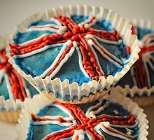 Cup cakes to celebrate the big day by Karen  Betts