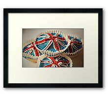 Cup cakes to celebrate the big day Framed Print
